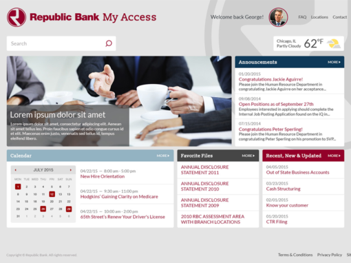 Republic Bank Intranet